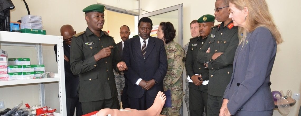 Handover ceremony of the AMEP Medical Modeling and Simulation Project