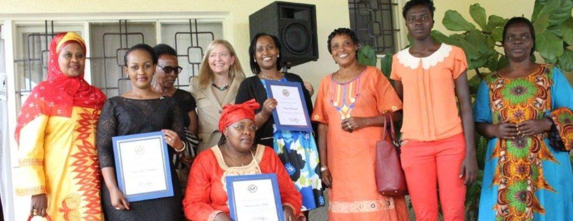 U.S. Embassy Honors Three Rwandan Women of Courage