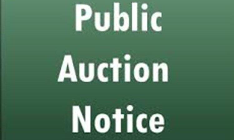 U.S. Embassy Public Auction Announcement