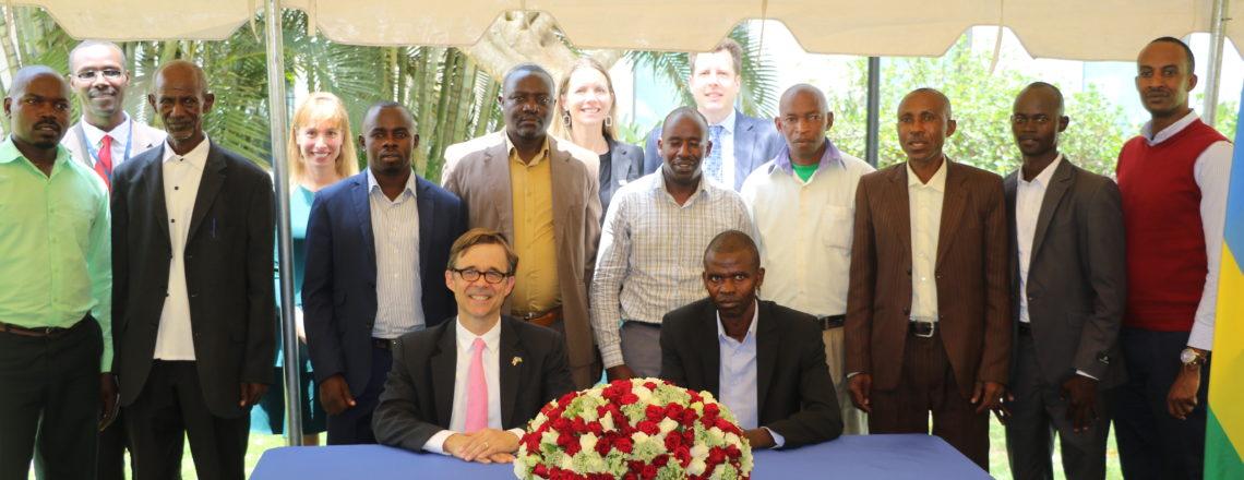 U.S. Embassy in Kigali awarded four grants to cooperatives in Rwanda