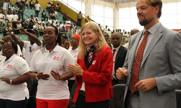 World AIDS Day Celebration with Ambassador Erica J. Barks-Ruggles