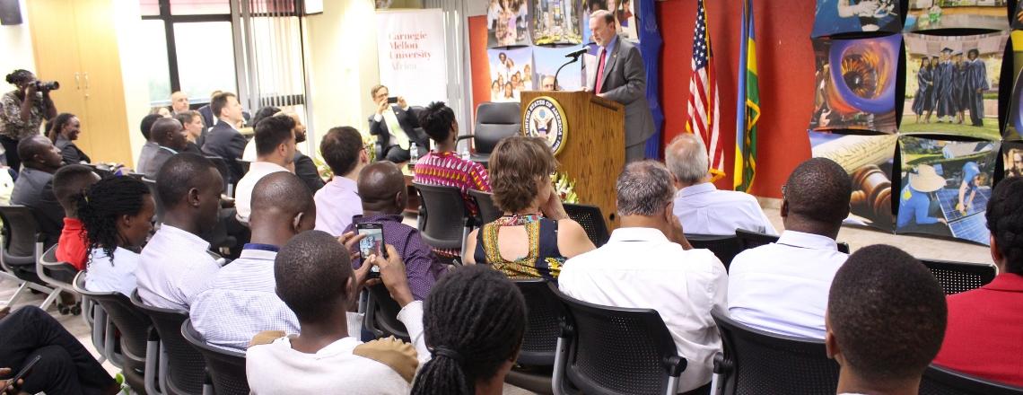 Assistant Secretary Nagy Champions U.S.-Rwanda Partnership at CMU-Africa