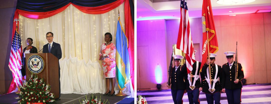 U.S. Embassy Kigali celebration of fourth of July.