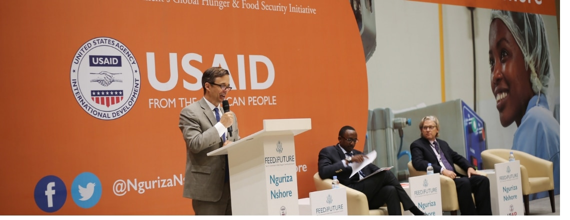 "Ambassador Vrooman Remarks at the Launch of USAID's Feed the Future ""Nguriza Nshore"""