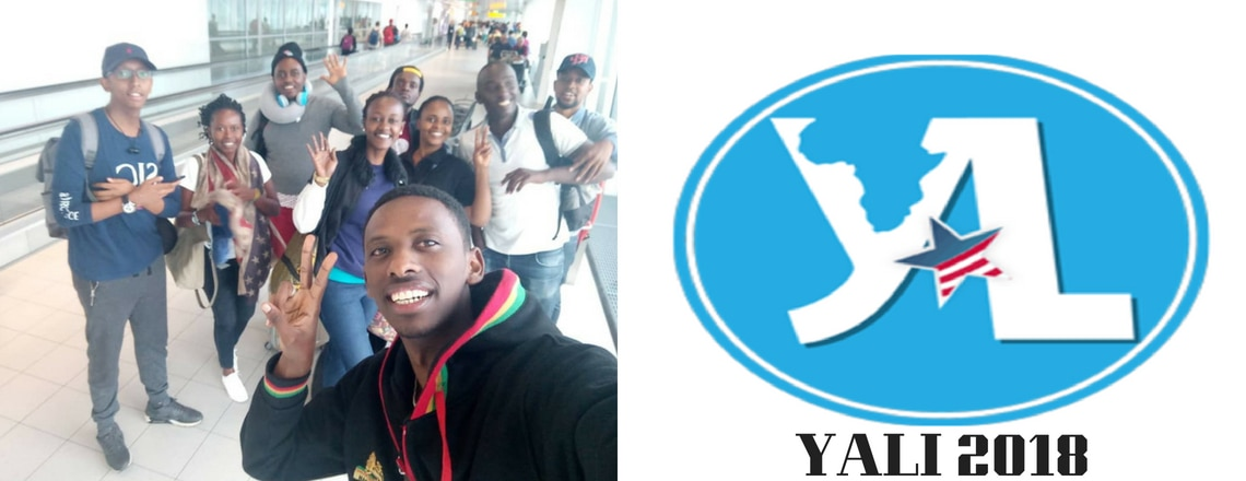 Twelve Young Rwandan Leaders Left Kigali to Participate in the Fifth YALI Fellowship